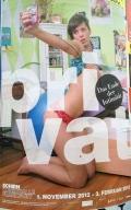 Das Plakat zur Ausstellung Privat