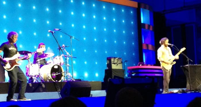 Rock auf der IBM Connect 2013 - Wachmachergegen 8 Uhr morgens in Orlando