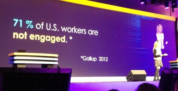 Viele Mitarbeiter - nicht nur in den USA - sind nicht motiviert - eine drängende Aufgabe nicht nur für HR Abteilungen.