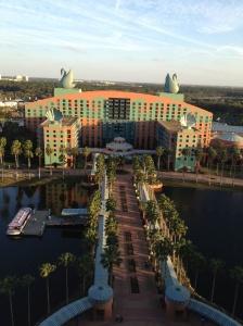 Die IBM Connect fand wieder im Dolphin und Swan in Orlando statt. Hier der Blick auf den Swan.