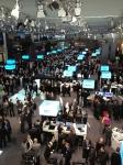 Immer wieder beeindruckend: Der IBM Stand.