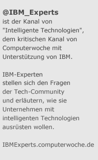 @IBM_experts auf Twitter