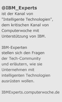 @IBM_experts auf Twitter