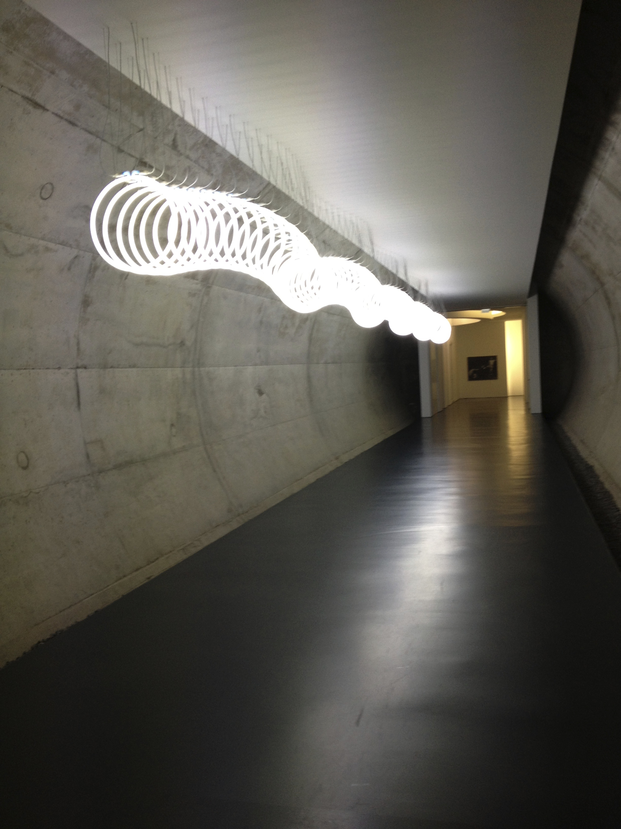 Hans Arp Museum in Remagen .... sehenswert, hier eine Installation