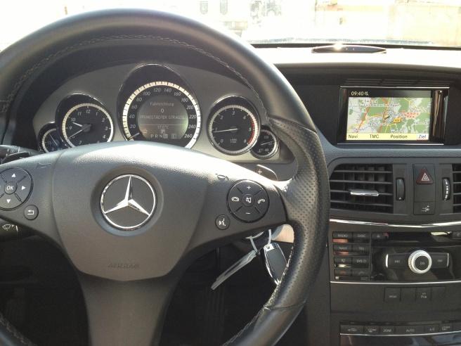 Auch nicht viel besser: das Navigationssystem in meinem vorherigen Mercedes.