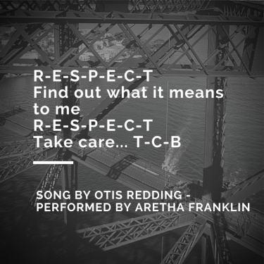 R-E-S-P-E-C-TFind out what it means to