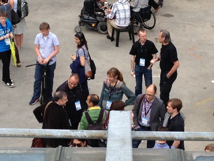 Bekannte Gesichter im Gespräch #rp13