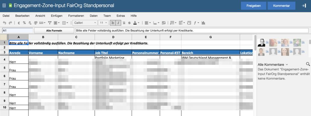 Viel zu wenig bekannt - IBM Docs: Online mit Kollegen zusammen Texte, Tabellen und Präsentationen bearbeiten.