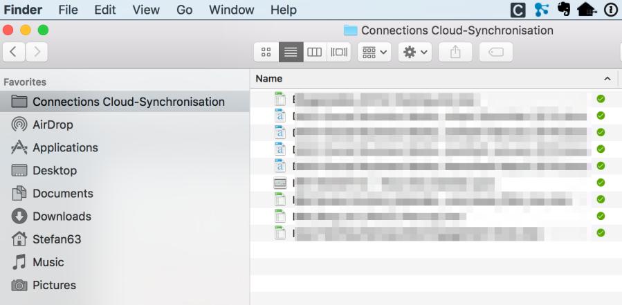 Meine Dateien immer aktuell synchronisert auf dem Mac mit IBM Connections File Sync