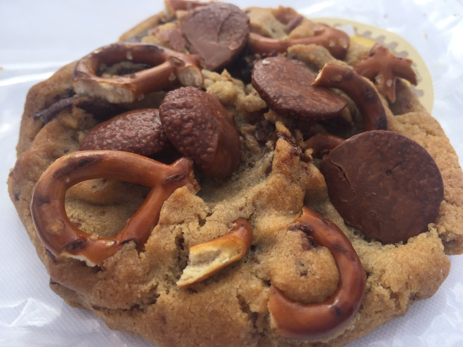 Immer noch da: Der traditionelle Lotuspshere-Cookie.