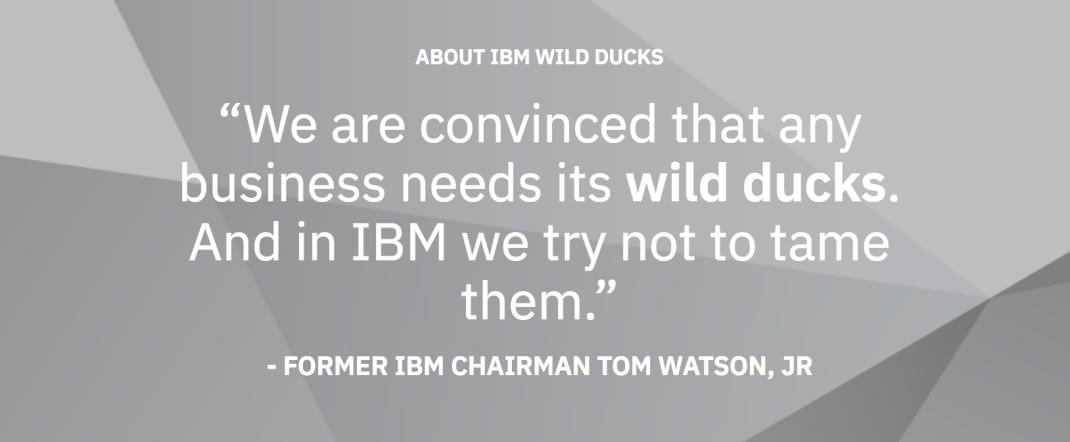 IBM_Wild_Ducks_-_About_IBM_Wild_Ducks_Podcasts