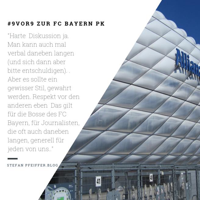 #9vor9 FC Bayern PK